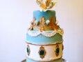 Ballroom Inspired Cake