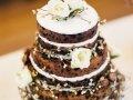 """""""Ogoljena torta"""" (naked cake)"""