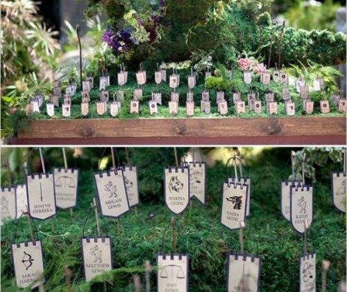 zastavice za vjenčanje