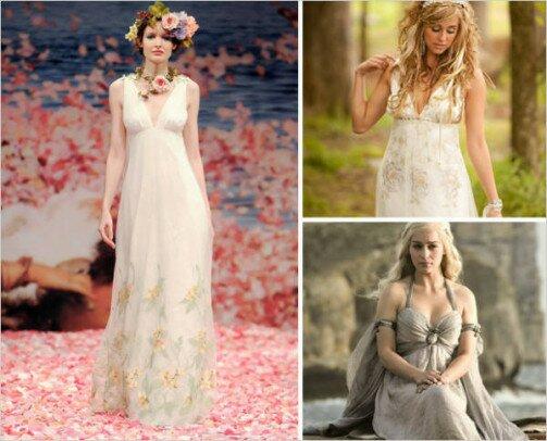 vjenčanice inspirirane serijom Game of Thrones