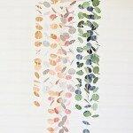 Uradi sama: luster od papirnatih krugova