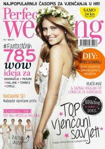 Novi broj časopisa Perfect Wedding Croatia u prodaji